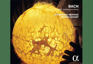 Bruno Cocset, Les Basses Reunies - Choräle und Trios  - (CD)