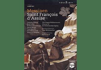 Camilla Tilling, Rod Gilfry, Tom Randle, VARIOUS, Chorus of De Nederlandse Opera, The Hague Philharmonic - Saint Francois D'assise  - (DVD)