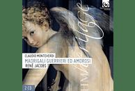 Rene Jacobs, Concerto Vocale - Madrigali Guerrieri Ed Amorosi [CD]