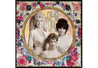 Linda Ronstadt, Emmylou Harris, Dolly Parton - Trio:Farther Along - (Vinyl)