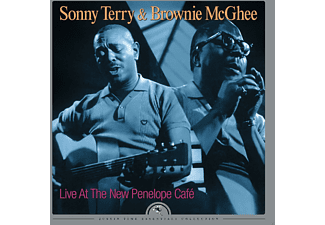 Sonny Terry, Brownie McGhee - Live At The New Penelope Café  - (Vinyl)