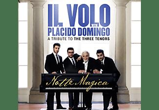 Plácido Domingo, Il Volo - Notte Magica-A Tribute to Three Tenors (Live)  - (CD)
