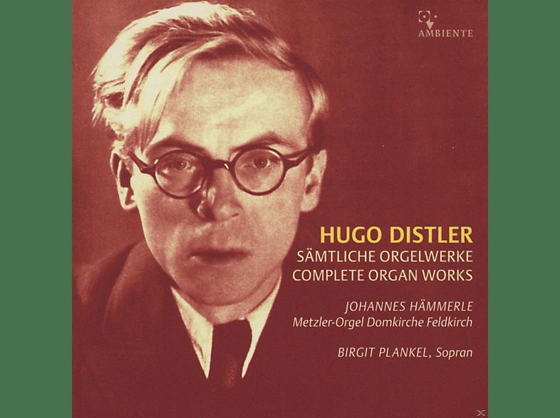 Johannes Hämmerle, Birgit Plankel - Sämtliche Orgelwerke [CD]