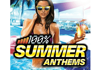 VARIOUS - 100 Percent Summer Anthems  - (CD)