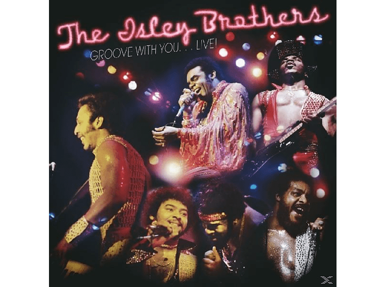 The Isley Brothers - Groove With You...Live [CD]