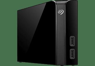 SEAGATE Backup Plus HUB Desktop Festplatte, 6 TB HDD, 3,5 Zoll, extern, Schwarz