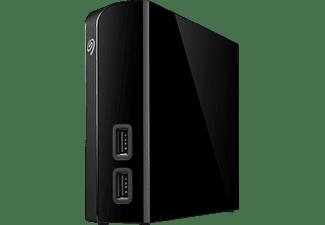SEAGATE Backup Plus HUB Desktop Festplatte, 4 TB HDD, 3,5 Zoll, extern, Schwarz