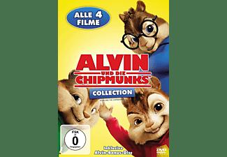 Alvin und die Chipmunks, Teil 1-4 DVD