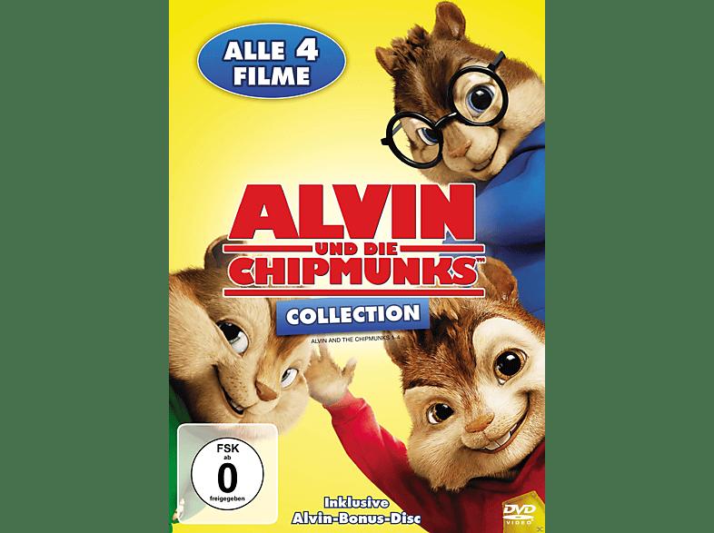 Alvin und die Chipmunks, Teil 1-4 [DVD]