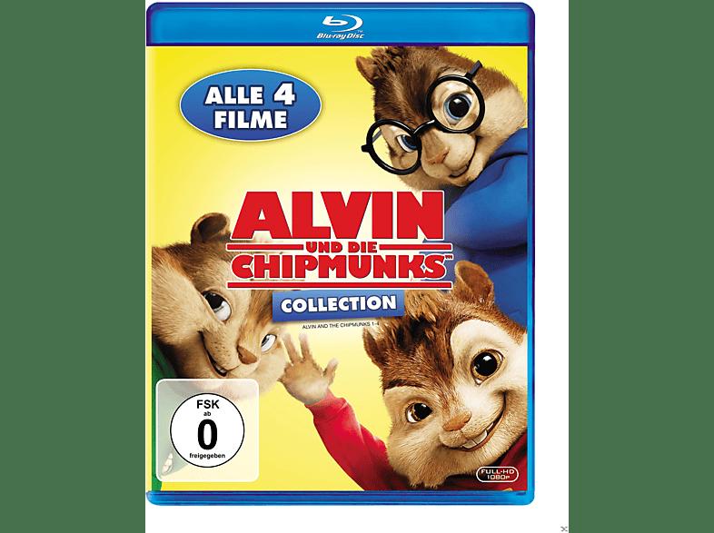 Alvin und die Chipmunks, Teil 1-4 [Blu-ray]