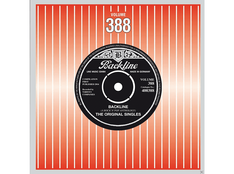 VARIOUS - Backline Vol.388 [CD]