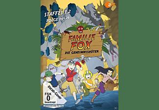 Familie Fox - Die Geheimnishüter Staffel 1.2 Folge 14-26 DVD