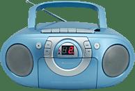 SOUNDMASTER SCD51000 mit Kassettendeck Radiorecorder, Blau