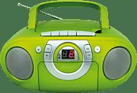 SOUNDMASTER SCD5100 mit Kassettendeck Radiorecorder, Grün