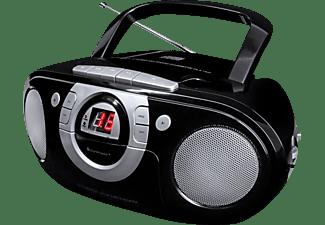 SOUNDMASTER SCD5100 mit Kassettendeck Radiorecorder, Schwarz
