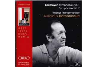 Wiener Philharmoniker - Sinfonien 1+7  - (CD)