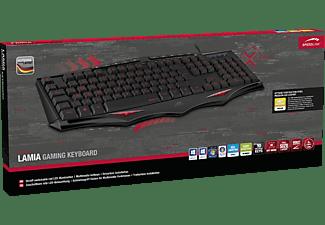 SPEEDLINK LAMIA, Gaming Tastatur, Rubberdome
