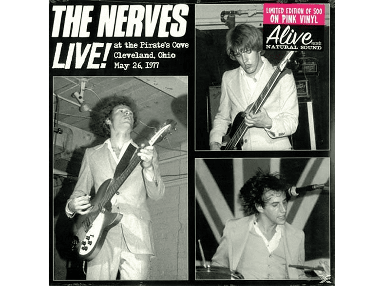 Nerves - LIVE AT PIRATES COVE (PINK VINYL) [Vinyl]