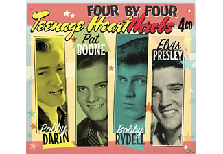 Darin, Boone, Rydell & Presley - Four by Four-Teenage Heartthrobs  - (CD)