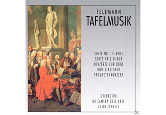 Zanetti - Tafelmusik  - (CD)