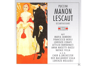 Or E Coro Del Teatro A.Scal - Manon Lecaut  - (CD)