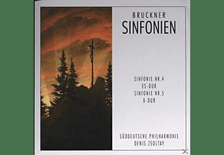 Süddeutsche Philharmonie - Sinfonien 4+5  - (CD)