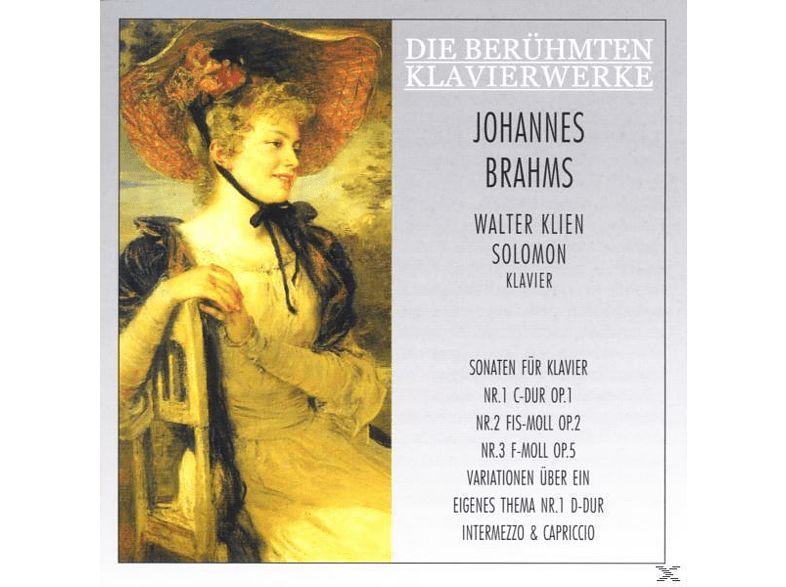 Solomon - Sämtliche Klaviersonaten 1-3 (Ga)/+ [CD]