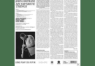 John Coltrane - My Favorite Things+1 Bonus T  - (Vinyl)