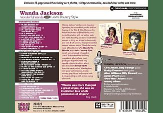 Wanda Jackson - Wonderful Wanda+Lovin' Country Style+6  - (CD)