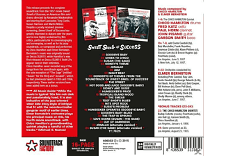 Bernstein Elmer, The Chico Hamilton Quintet - Sweet Smell Of Success  - (CD)