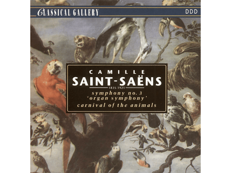 The Saint, VARIOUS - Sinf.3 Organ Symphony [CD]