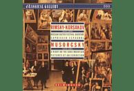 Slovenian Symphony Orchestra, Philharmonia Slavonica, Sofia Symphony Orchestra, Ljubljana Radio Symphony Orchestra - Moedst Musorgsky [CD]