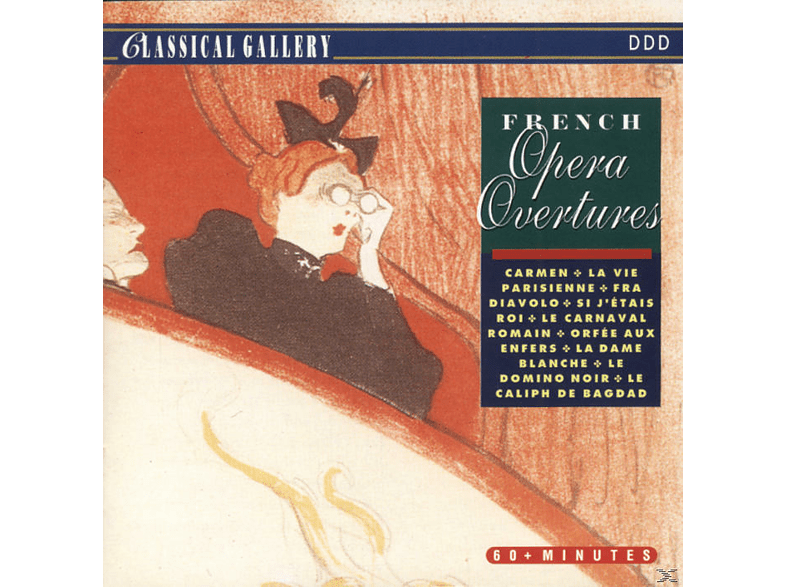 VARIOUS - French Opera Overtures [CD]