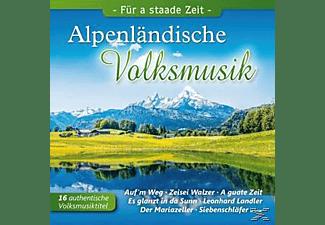 VARIOUS - Alpenländische Volksmusik,Für a staade  - (CD)