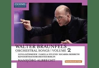 Camilla Nylund, Genia Kühmeier, Ricarda Merbeth, Konzerthausorchester Berlin - Orchesterlieder Vol.2  - (CD)