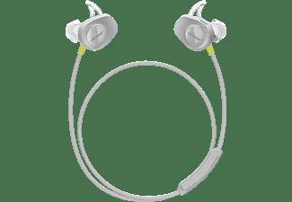 BOSE SoundSport Wireless, In-ear Kopfhörer Bluetooth Grau/Zitron