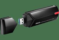 WLAN USB Adapter ASUS USB-AC68 AC1900 Dual-Band WLAN USB-Adapter