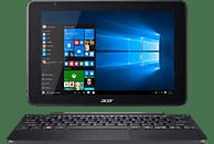 ACER One 10 (S1003-13ZD), Convertible mit 10.1 Zoll Display, Atom® Prozessor, 4 GB RAM, 128 GB eMMC, Intel® HD-Grafik 400, Anthrazit