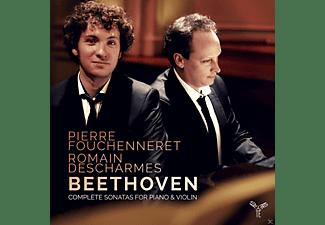 Pierre Fouchenneret, Romain Descharmes - Sämtliche Sonaten Für Piano & Violine  - (CD)