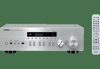 YAMAHA Stereo Receiver R-N402D, 2x100 Watt RMS, DAB+, silber