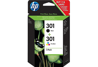 HP HP 301 & 301 Cartridge Combo Pack - (HPN9J72A)