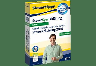 SteuerSparErklärung Lehrer 2017 (für Steuerjahr 2016) - [PC]