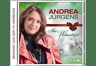 Andrea Jürgens - Mein Weihnachtsfest  - (CD)