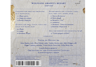 Lenneke Ruiten, Orchestra Of The Eighteenth Century, Kenneth Montgomery, De Bruine Frank - The Oboe Concerto & other works for Oboe  - (CD)