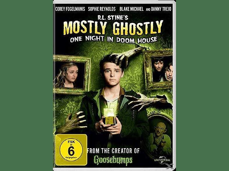 R.L. Stine - Die Nacht im Geisterhaus [DVD]