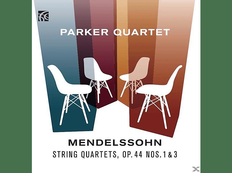 Parker Quartet - Streichquartette 3+5 [CD]