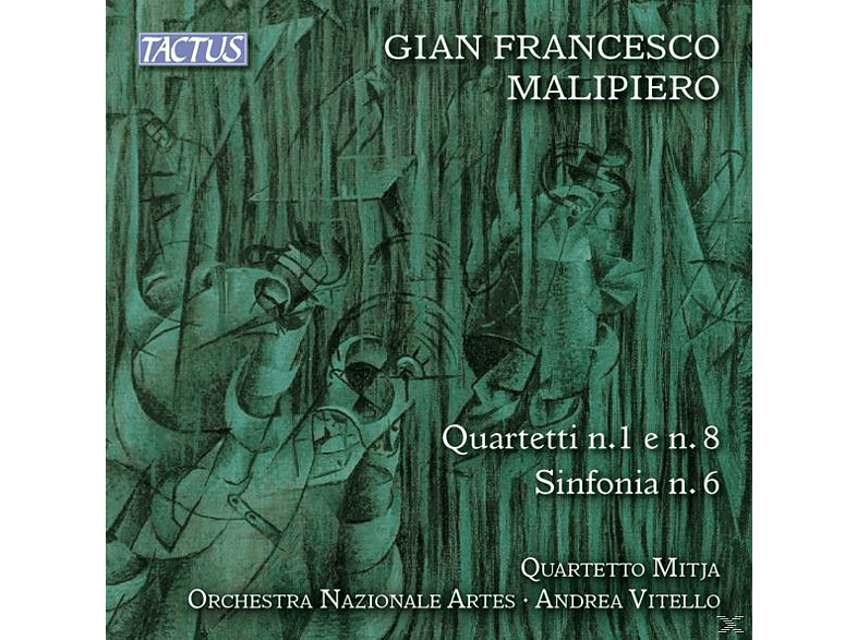 Quartetto Mitja/Vitello/Orchestra Nazionale Artes - Quartette 1+8/Sinfonie 6 [CD]
