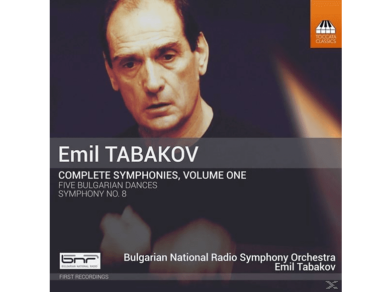 Emil/bulgarian National Radio So Tabakov - Sämtliche Sinfonien Vol.1 [CD]