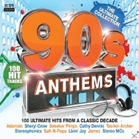 VARIOUS - 90s Anthem's [CD]