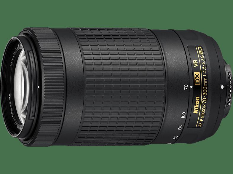 NIKON AF-P DX 70-300/4,5-6,3 ED VR  für Nikon F-Mount, 70 mm - 300 mm, f/4.5-6.3